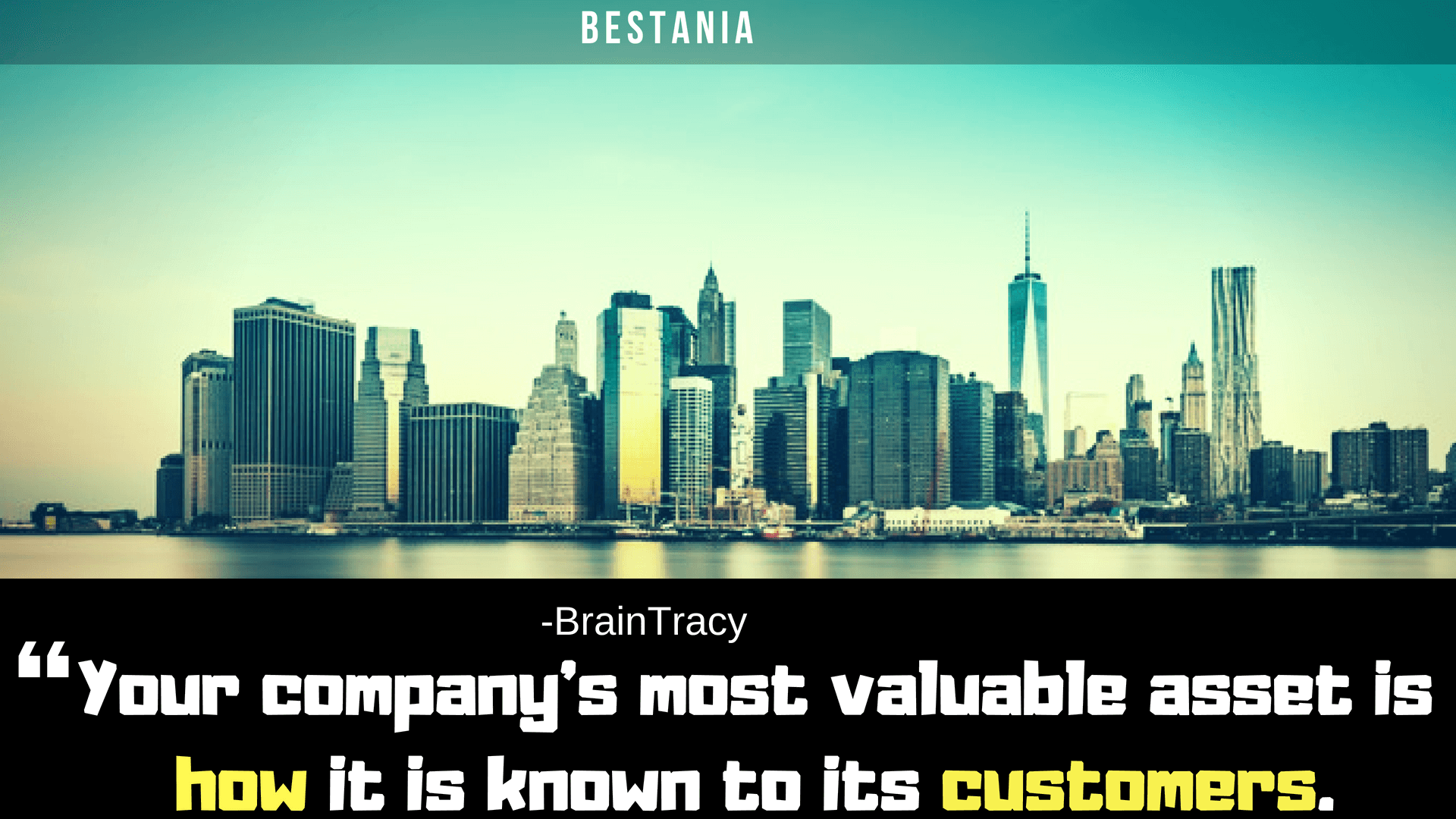 Your company's most valuable asset is how it is known to its customers.