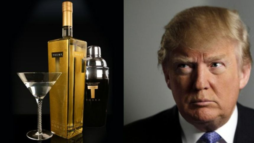 trump alcohol