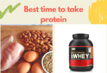 Best time to take protein
