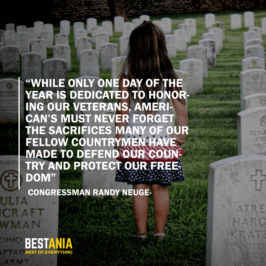 """WHILE ONLY ONE DAY OF THE YEAR IS DEDICATED TO HONORING OUR VETERANS, AMERICAN'S MUST NEVER FORGET THE SACRIFICES MANY OF OUR FELLOW COUNTRYMEN HAVE MADE TO DEFEND OUR COUNTRY AND PROTECT OUR FREEDOM""   CONGRESSMAN RANDY NEUGEBAUER"