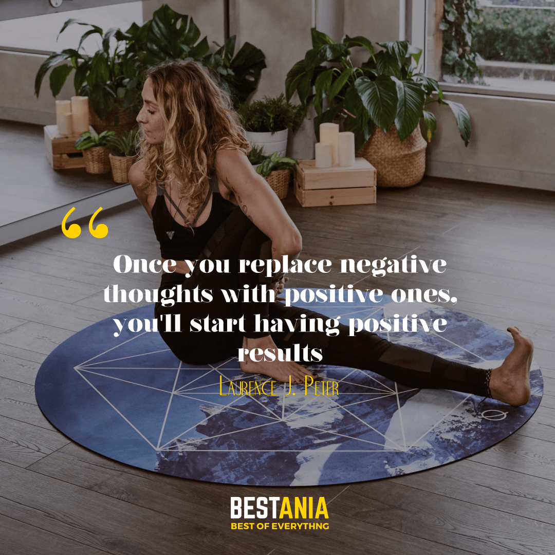 """""""Once you replace negative thoughts with positive ones, you'll start having positive results."""" --Willie Nelson"""